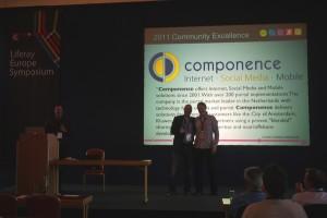Community Excellence Award Liferay - Maarten van Heiningen